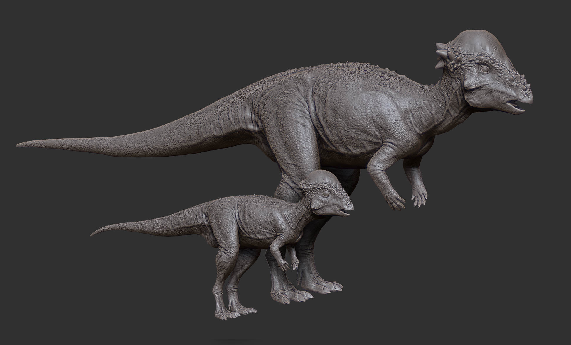 Conceptual on Baby Dinosaurs